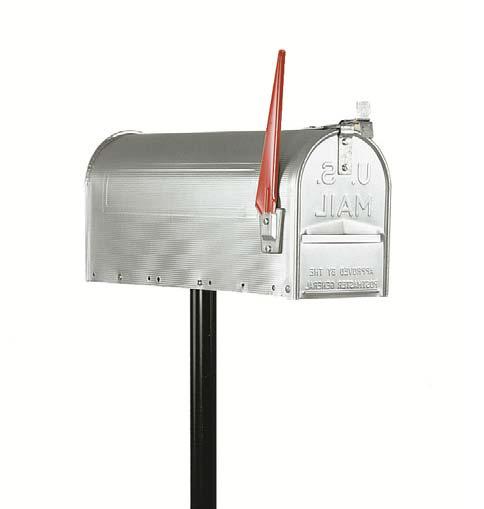 Seletti cassetta postale americana u s a con palo in metallo h147cm da giardino ebay - Cassetta postale design ...